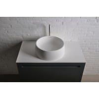 13-40-468 VOLLE Solid Surface Раковина ø420*150 mm