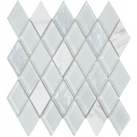 Мозаїка INTERMATEX JEWEL WHITE 260x297