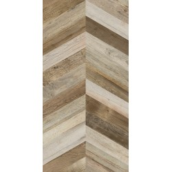 Плитка Ape Ceramica Chevron Dock Brown Rect