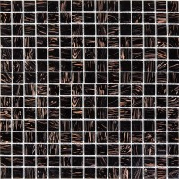 Мозаика MOZAICO DE LUX K-MOS CBB003 DARK BROWN
