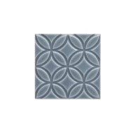 Декор Adex Ceramica Adne4143 Relieve Botanical Storm Blue