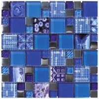 Intermatex Carnaval Blue 30x30