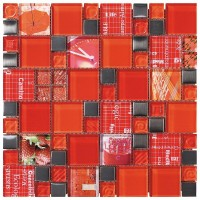Intermatex Carnaval Red 30x30
