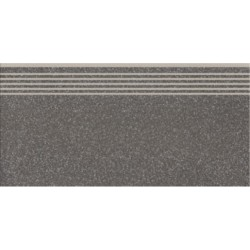 Ступень Cersanit Milton Dark Grey Steptread 298x598x8.5